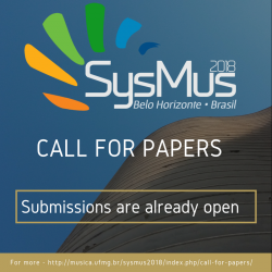 SysMus18 - Call for Papers