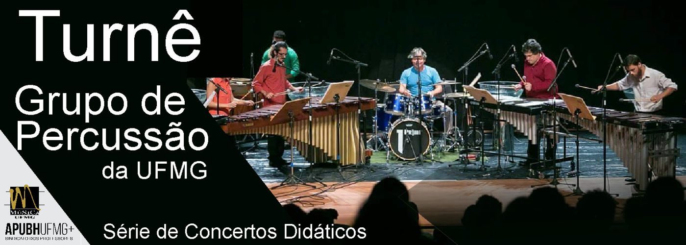 Turnê Grupo de Percussão da UFMG