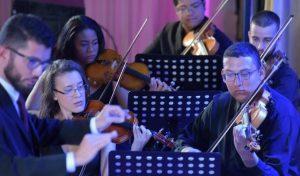Orquestra de cordas logo